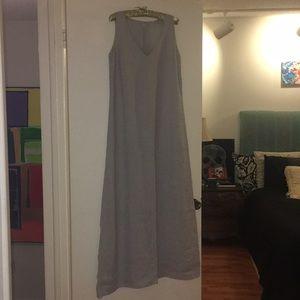 Dresses & Skirts - 120% Lino Italian Linen brand, long tank top dress